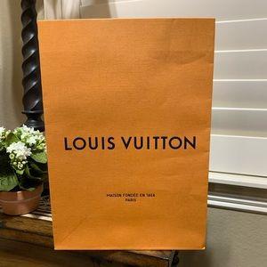 Louis Vuitton authentic XL gift bag